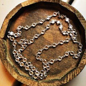 Touchstone Swarovski 36 inch necklace